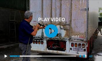 Dump Truck Under Body Clean
