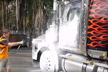 Touchless Truck Clean