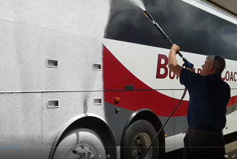 Touchless Bus Cleaning