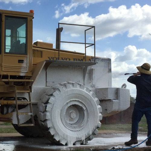 Earthmoving Equipment Wash