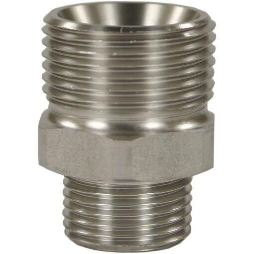 "Quick Screw Plug Nipple Adaptor SS M22M:1/4""M - Chiefs Australia"
