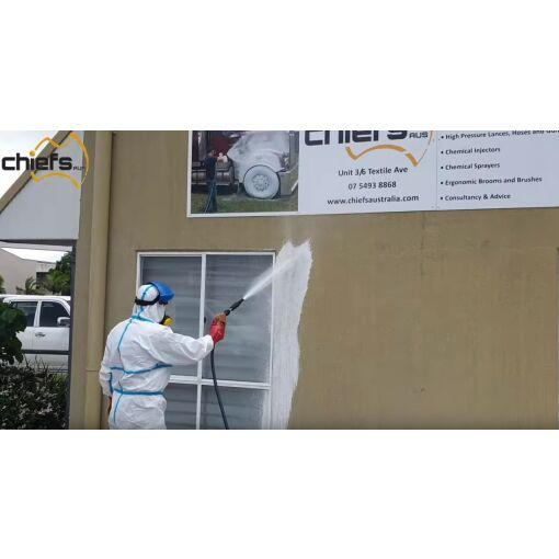 Disinfectant Kit 4 - Long Cast Foamer - Chiefs Australia