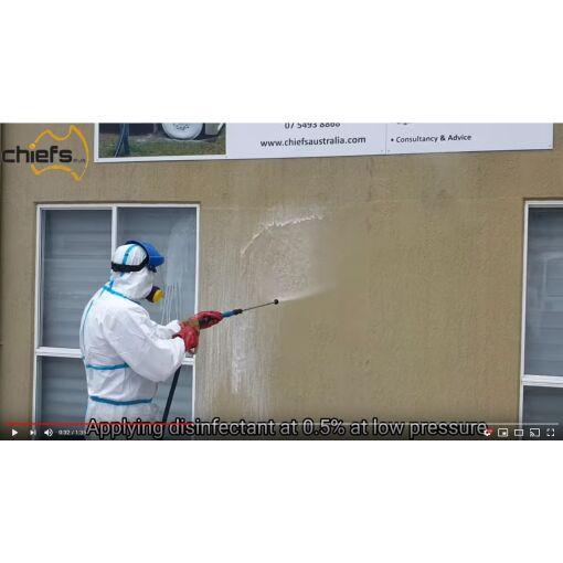 Disinfectant Kit 2 - Low Pressure - Chiefs Australia