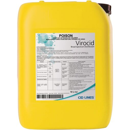 VIROCID 10L DISINFECTANT - Chiefs Australia