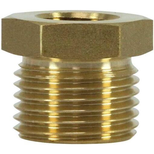 Brass Reduction Nipple 3/8F:1/2M - Chiefs Australia